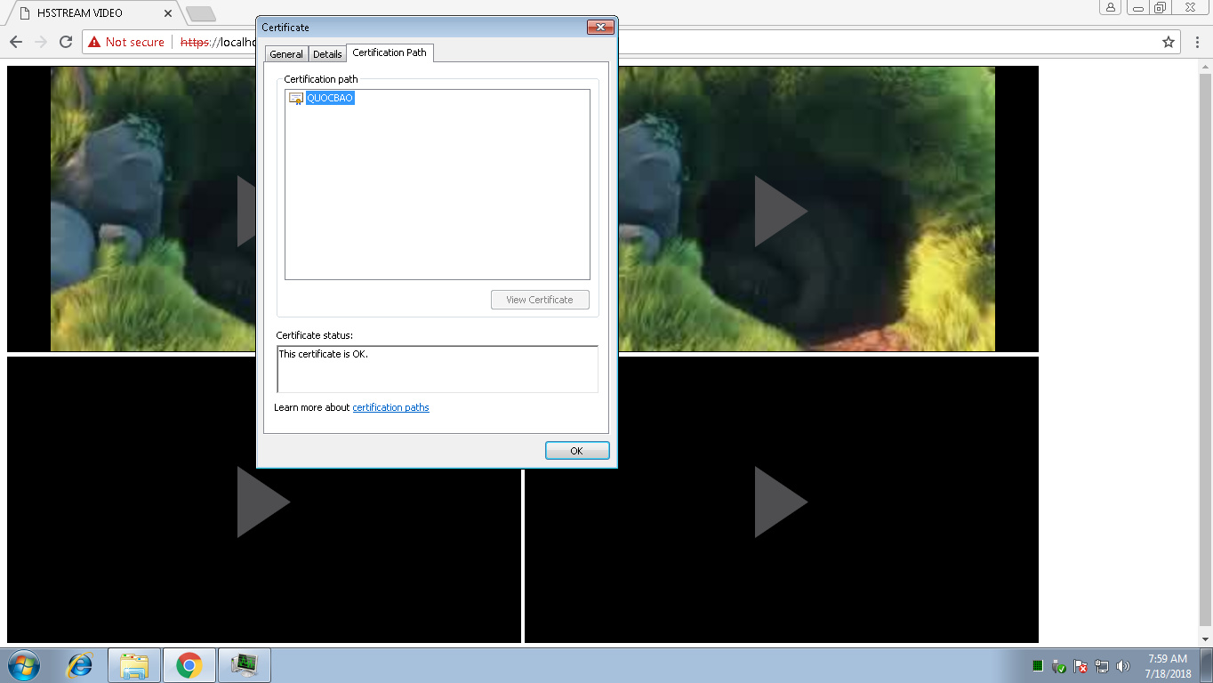 How Can Install Ssl Certificate Into H5stream H5stream Linkingvision